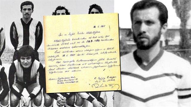 İETTde çalışanı ve aynı zamanda takımda futbol oynayan Recep Tayyip Erdoğan'ın sakallı hali.