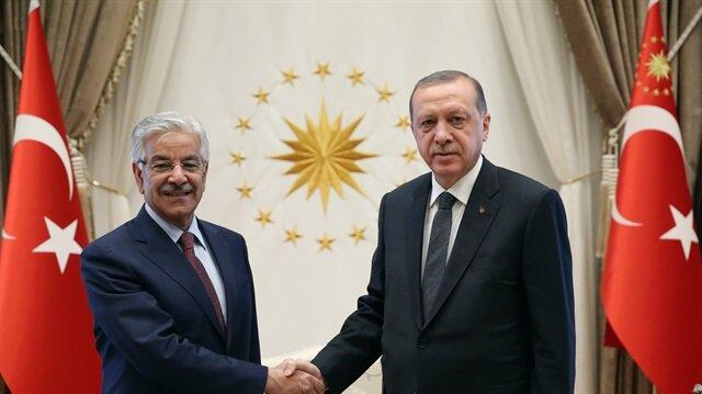 أردوغان يستقبل وزير خارجية باكستان في أنقرة