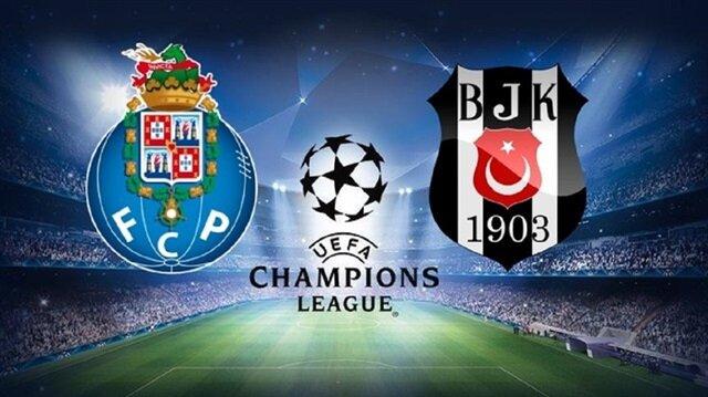 Şampiyonlar Ligi'nde Beşiktaş Porto ile bu akşam karşı karşıya gelecek
