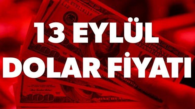 13 Eylül dolar kuru fiyatı ne kadar? sorusunun yanıtı haberimizde.