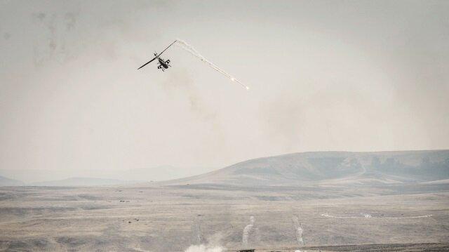 ATAK Ağrı'da PKK'yı vurdu