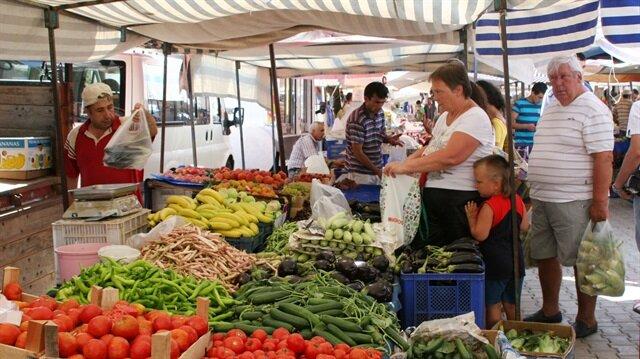 Türkiye'de yüzde 50-60 oranında semt pazarı var.