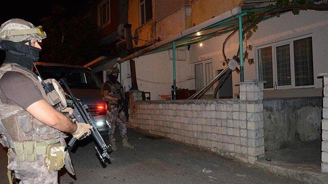 İstanbul'da uyuşturucu satıcılarına yönelik operasyon düzenlendi.