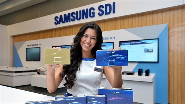 Güney Koreli teknoloji devi Samsung, elektrikli otomobillere istenilen şekilde yerleştirilebilecek modüler bir batarya üretti