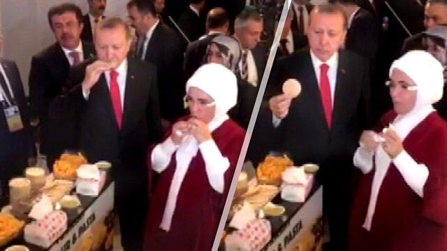 Cumhurbaşkanı Erdoğan bu yemeği çok beğendi
