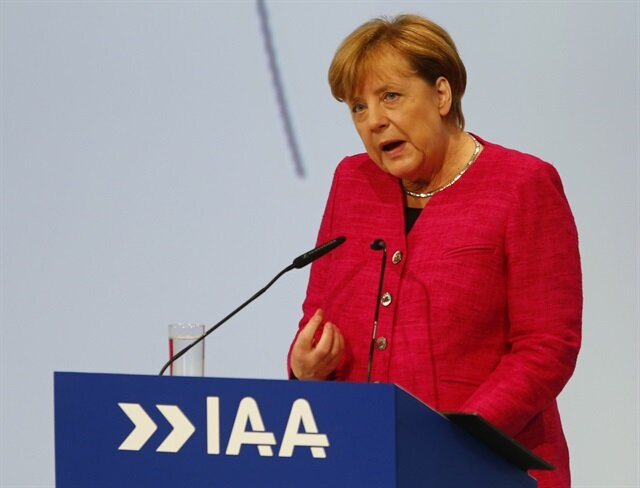 Merkel says car industry must work hard to rebuild trust