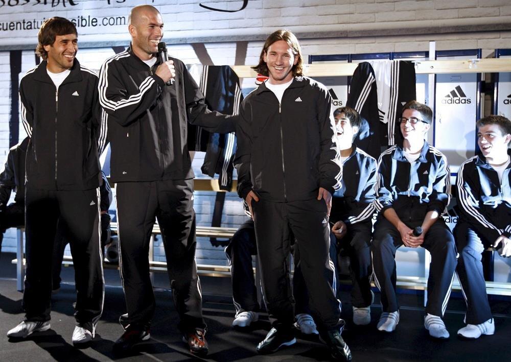 Lionel Messi, Real Madrid'in teknik direktörü Zinedine Zidane'a çok büyük saygı duyduğunu ifade etmişti.