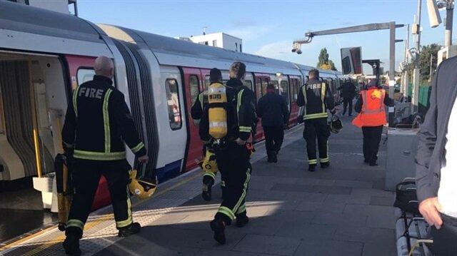 Londra metrosunda patlama: 18 yaralı
