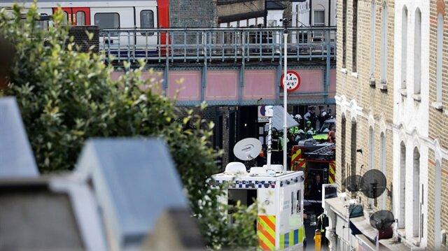 Londra metrosundaki patlamayla ilgili 1 gözaltı