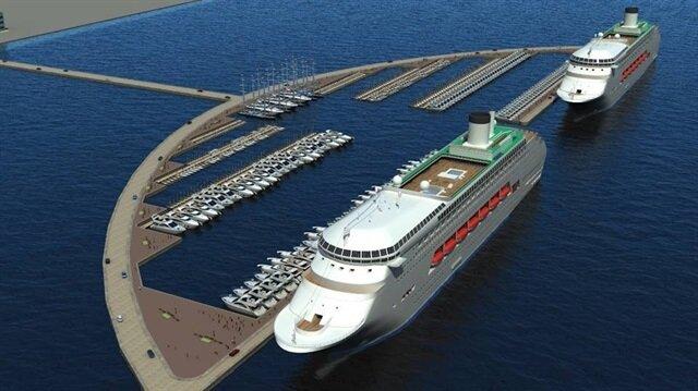 Kruvaziyer ve Yat Liman Kompleksi Projesi'ne, Büyükşehir Meclisi'nden onay çıktı.