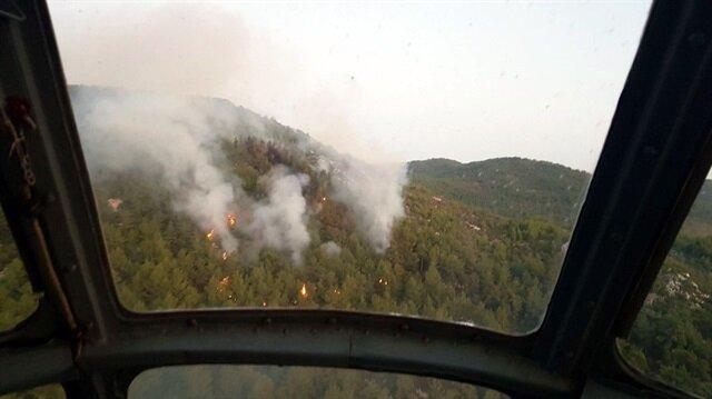 İzmir'de orman yangını! Son dakika