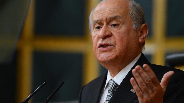 MHP lideri Bahçeli: Kürdistan kurulursa Türkiye felç olacaktır
