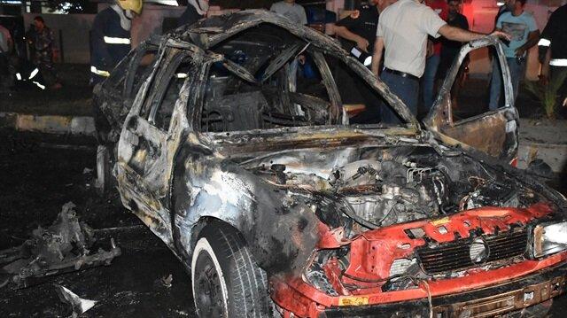 Kerkük'te bomba yüklü araçla saldırı
