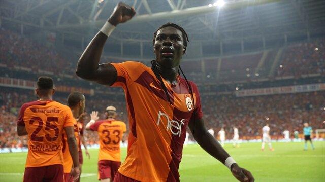 Galatasaray'ın Fransız yıldızı Bafetimbi Gomis, bu sezon ligde çıktığı 5 maçta 7 gol atma başarısı gösterdi.
