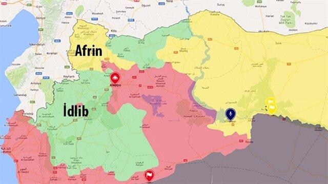 İdlib'de ağır hava