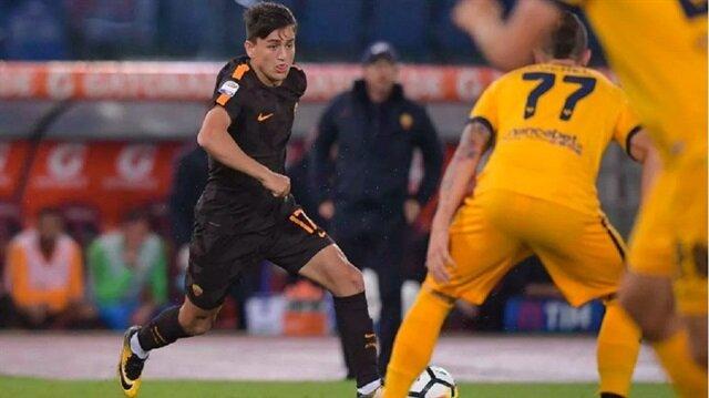 Cengiz Ünder, Roma'da ilk 11'de çıktığı ilk resmi maçında Verona karşısında etkili bir performans ortaya koydu.