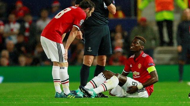 Arka adelesinden sakatlık geçiren yıldız futbolcu, maça devam edememişti.