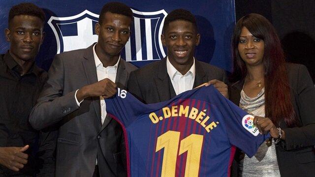Ousmane Dembele (C)