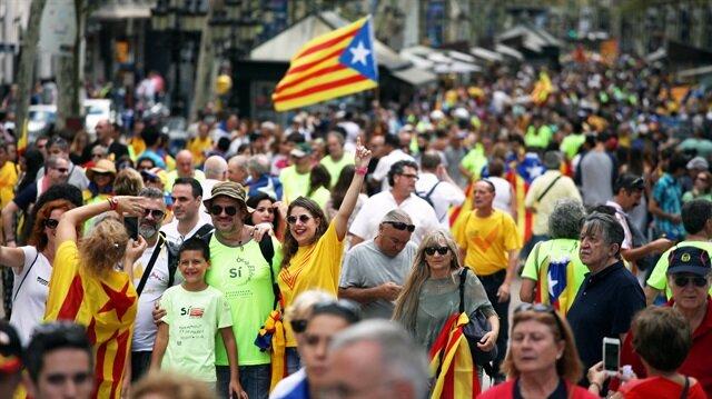Katalonya, 1 Ekim'de bağımsızlık referandumuna gidecek.