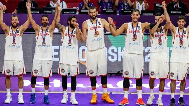 2017 Avrupa Basketbol Şampiyonası'nın üçüncülük maçında Rusya'yı 93-85 mağlup eden İspanya Milli Takımı, bronz madalyasını aldı.
