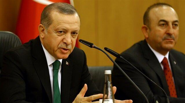 Cumhurbaşkanı Erdoğan: Irak'ın bölünmesine 'devam edin' diyemeyiz