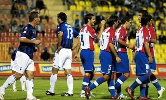 Kayseri Erciyespor'u UEFA Kupası'ndan Atletico Madrid elemişti.