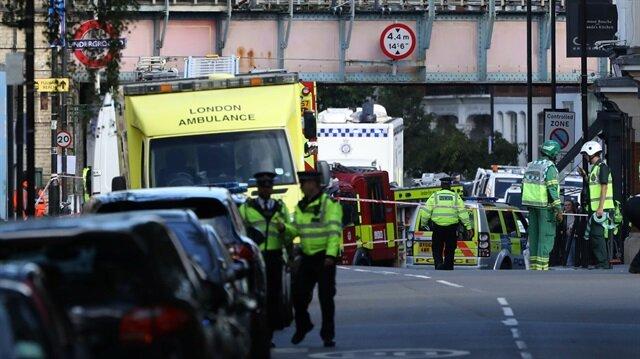 İngiltere'nin başkenti Londra'da bulunan Parsons Green metro istasyonunda patlama meydana geldi.