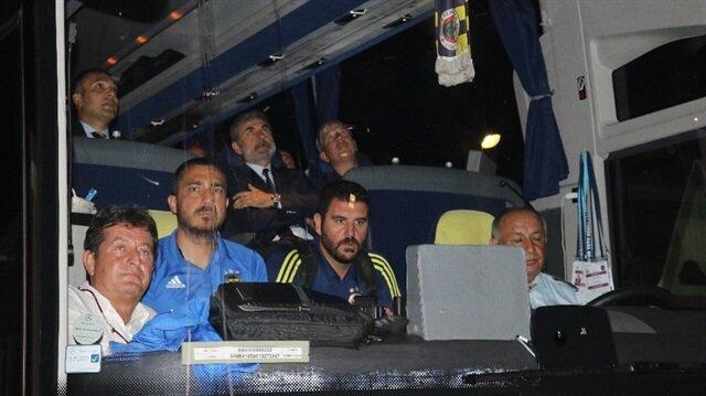 Fenerbahçe kafilesi Alanya'da