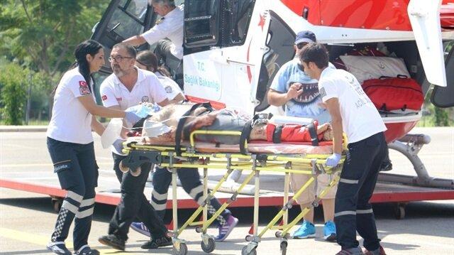 Antalya'da tur otobüsü kazası: 2 ölü 29 yaralı