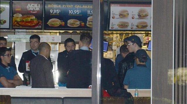 Fast food devine soygun mağduru dava açtı