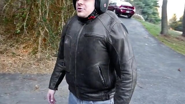 Hava yastıklı motorsiklet ceketi
