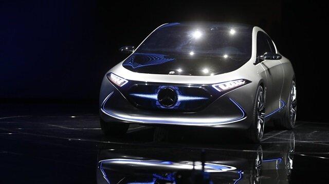 Mercedes-Benz'in yeni elektrikli konsepti EQA