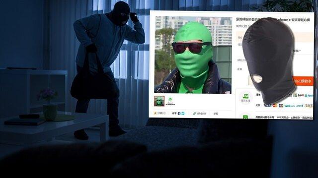 Çılgın icatları ile dünyanın gündemi oturan Çinliler, iPhone X kullanıcılarını güvenliğini sağlayacak bir maske geliştirdi.