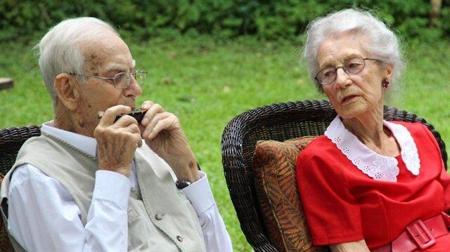 75 yıldır evlilerdi 5 saat arayla öldüler