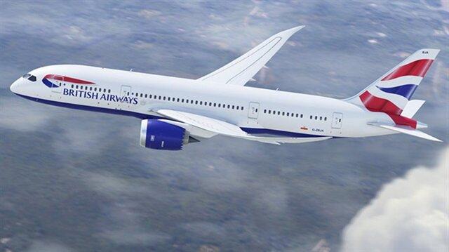 British Airways filosunda uzun uçuşlar yapabilen 787 Dreamliner uçağı.