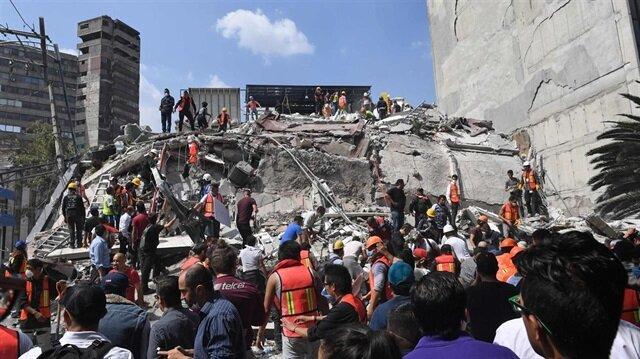 Meksika'da 7,1 büyüklüğünde deprem: Ölü sayısı artıyor