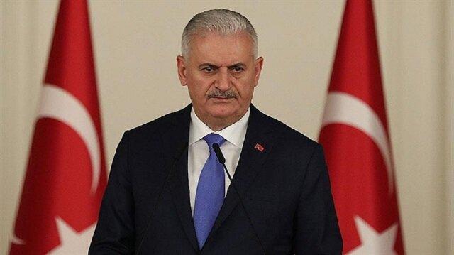Turkish Prime Minister Binali Yıldırım.
