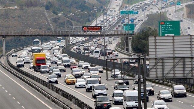 Türkiye'de otomobil sayısı 11 milyon 740 bin 823'e ulaştı.