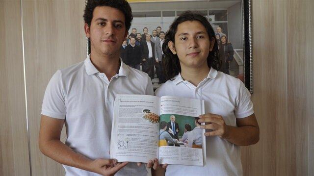 Lise öğrencilerinin projesi müfredata geçti.