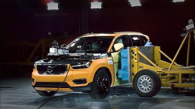 Volvo sağlamlık testinde inanılmazı başardı
