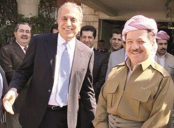 Zalmay Khalilzad, Masoud Barzani