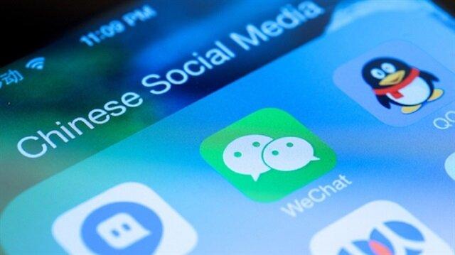 WeChat, Çin'in en çok kullanılan mesajlaşma uygulaması.