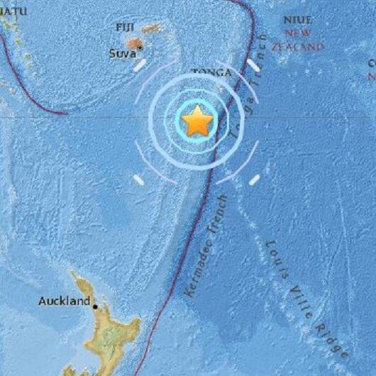 Fiji Adaları'nda 6.5'lik deprem
