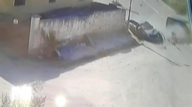 Adana'da feci kaza kamerada