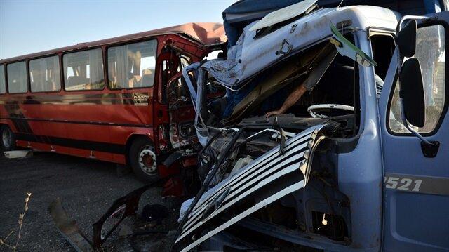 Eskişehir'de cenaze dönüşü trafik kazası