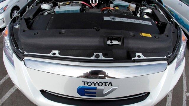 Toyota Mazda'nın yüzde 5'ine sahip.