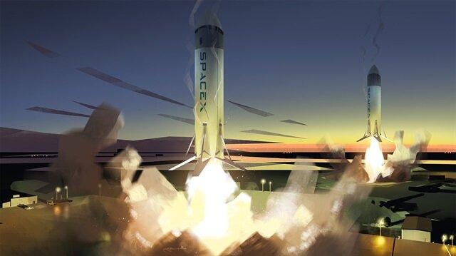 BFR projesi, Falcon 9 roketiyle ön plana çıkan SpaceX şirketi çatısı altında yürütülüyor.