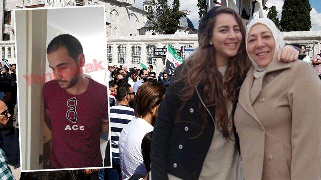 İstanbul'da katledilen Suriyeli gazeteci anne-kızın katili yakalandı