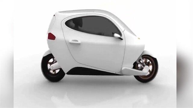 Devrilmeyen elektrikli motosiklet: Lit C-1