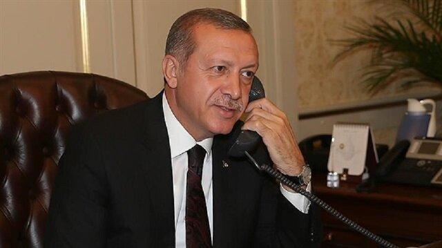 Cumhurbaşkanı Erdoğan, Naim Süleymanoğlu ile telefonla görüştü